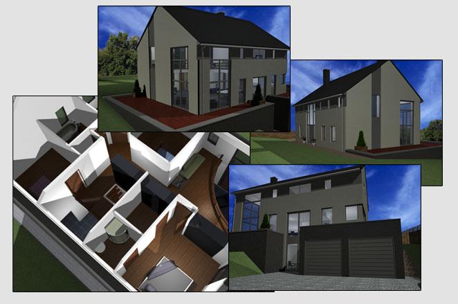 Modélisation 3D architecturale